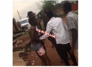 Man Returns Home To Meet His Friend In Boxers With Only His Girlfriend Around (Video)